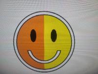イラストレーターで図形の中に均等に線の挿入方法を教えてください。 口の中に均等に線を入れたいです。 宜しくお願い致します。
