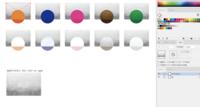 llustratorでイラストに水彩風テクスチャをオーバーレイで重ねているのですが、テクスチャがうまいこと出ません。 手順に関して、このあたり↓を参考にさせていただきました。 https://www.linustock.com/article/...
