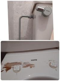 トイレの便座について教えてください。 TOTOのウオシュレットを20年以上使用してますが、やはり老朽したのか、私が引っ張ったのか、ウオシュレットの便座が外れてしまいました。今は元の便器に外れたウオシュレ...