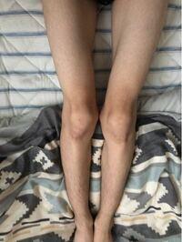 この写真の脚についてどう思いますか? 女性に質問です!