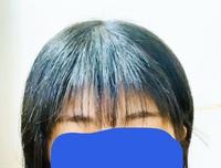 前髪失敗しました。どうすればいいですか? 前髪すきすぎてますよね。 ここからどうすれば可愛い感じになりますか? もう切っちゃいました( ´;ω;` )