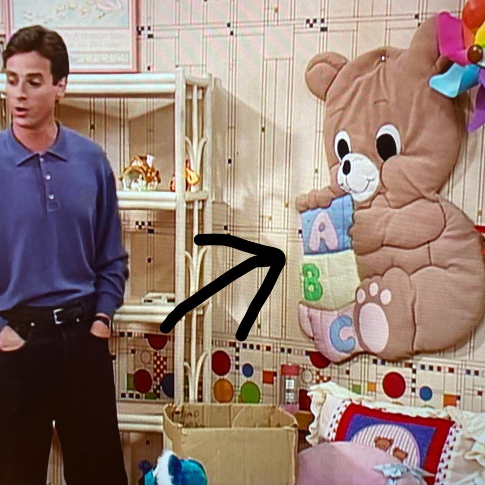画像みたいな、 クッション性のある(布製の) 子供部屋の壁に飾るものの 商品名(?)ってわかる方いますか?、