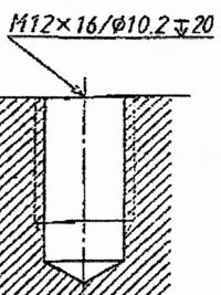 これは本当にメートル並目ねじですか?  添付した写真について回答にはメートル並目ネジと書いてあったのですが M12「×16」と来た時点で細目ネジでは無いかと思ったんです。  出典のサイトです https://www....
