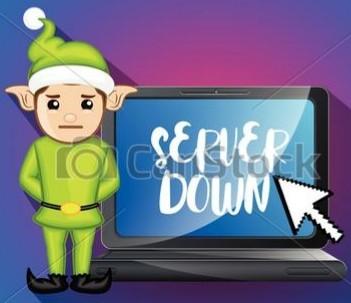 もし、クリスマスにゲーム実況中、鯖落ちし(て)たら、どうしたらいいですか。