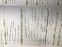 エレメント2 lesson5のcomprehensionの答えが分かりません、、。教えていただける方いますか