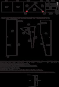 軽衫(かるさん)袴の作り方についてご教示ください。 軽衫袴の作り方を探していたところ、古い資料がみつかりました(見づらいので添付は一分データに起こし直したものです)。 しかし記述がこれだけしかなく、...