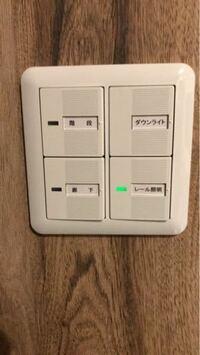 以下の写真のホタルランプがついてるスイッチだけ押せないようなスイッチカバーはありませんか? このレール照明スイッチは水槽室のダクトレール用ライトのスイッチで、スマートコンセントで管理しているので、OF...