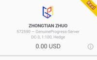 「ZHONGTIAN ZHUO」 MT5の証券会社について質問です。 この証券会社について知っている人は教えて頂けないでしょうか? 詐欺なのかどうか? 評価はどうなのか?