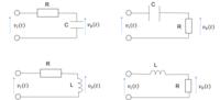 ラプラス変換 積分 数学 についての質問です! 下の画像のRC,CR,LR,RL回路において入力電圧をvi(t)、出力電圧をvo(t)とした場合の伝達関数を回路方程式を求めなさい、という問題の解答解説をお願い致しますm(_ _)m
