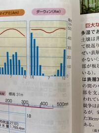 急ぎの質問です。チップ100枚です。 高校地理でサバナ気候は夏季は雨季、冬季は乾季と習ったのですが、教科書のハイサーグラフの降水量は冬の降水量が高くなっています。 これはどういうことでしょうか?