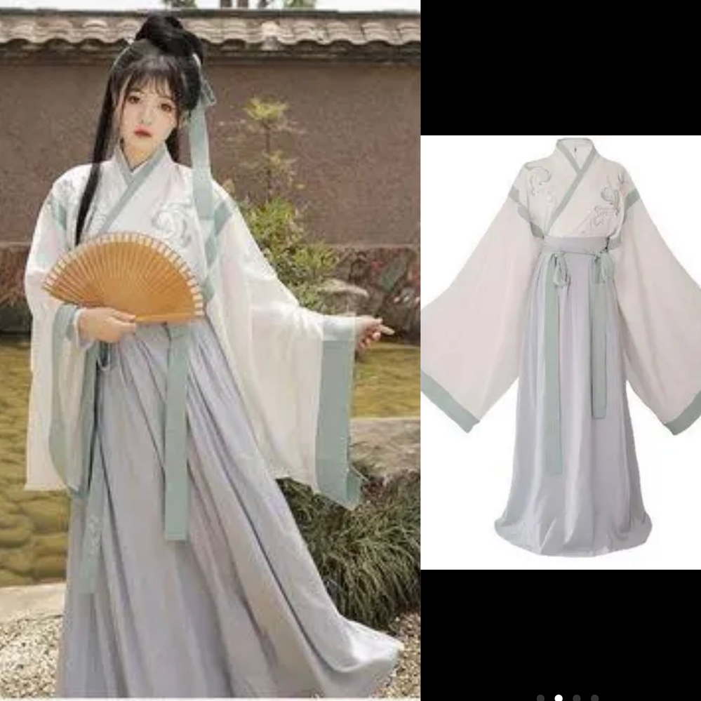 こちらの漢服は中国のいつの時代、どこの民族衣装でしょうか?