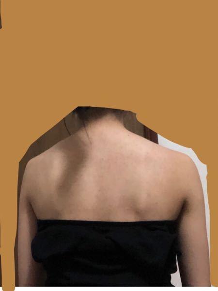 私肩幅広いですよね、、 でも広いというより形が悪いですよねや( ; ; ) どうしたら綺麗で華奢な肩になれますか?