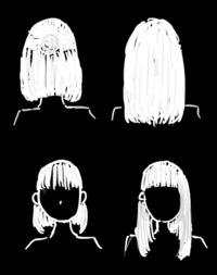 ハーフアップするとボブに見えて下ろすとロングヘア(セミロング)になるのは変でしょうか?その他に両方できる髪型はあるでしょうか…?