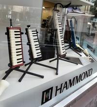 この左から2番目の鍵盤ハーモニカの吹き口はどうやって吹くのでしょうか? 金管楽器みたいに唇の振動ですか?