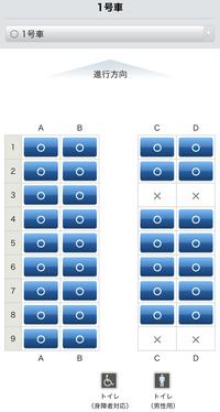 マリンライナーのパノラマ席をe5489で取ろうとしたのですが、前はマリンパノラマが別列車のような表記になっていた気がするのですが、 パノラマの列車が表示されませんでした。 普通のマリンライナーからグリーン車を選ぶと1番が表示されたのですが、この1番の席がパノラマという事であっているでしょうか?