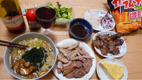 今日の夕食(・◇・)/~~~