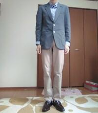 人生初のお見合いをすることになりました。 カジュアルな服装はNGと言われてますので、このような服装で行っても大丈夫なのでしょうか?印象が悪くなったりしないでしょうか? ちなみに普通のスーツも一応持って...