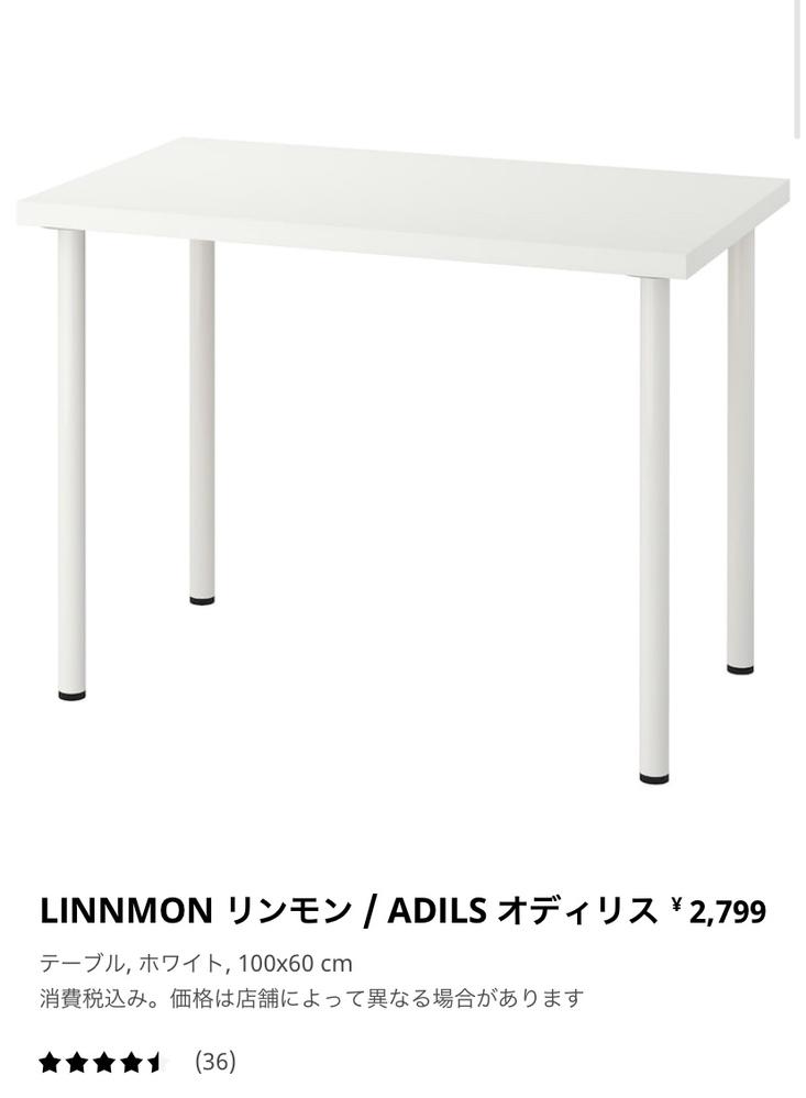 IKEAのリンモンの机を勉強机として購入しました。少し文字を書いただけで揺れがひどく、集中できません。 机の上にはデスクライト、ペン立てを置いている程度です。 揺れが少しでもましになる方法を教えてください。