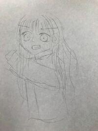 友達が初めてイラストを描きました 殴っているイラストです才能ありますか?