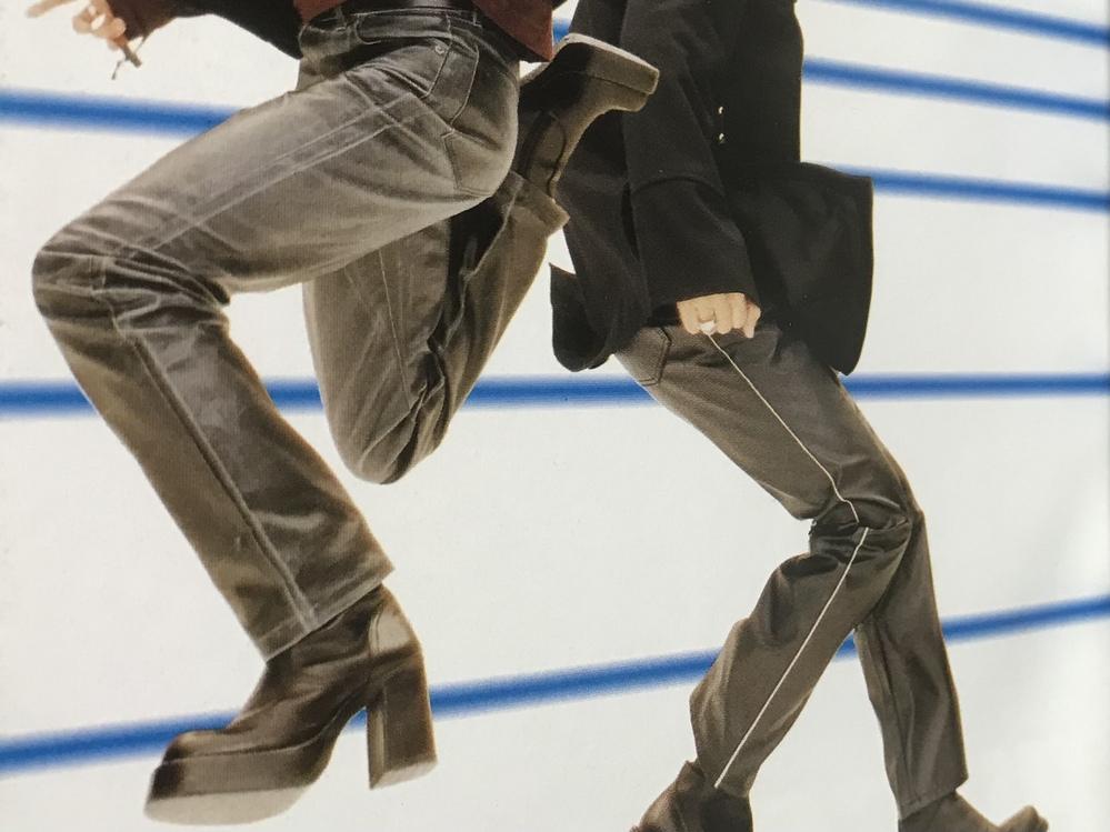 GLAYのHISASHIさんが90年代後半頃履かれていたコチラの厚底ブーツはどちらのブランドでしょうか?