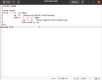 シェルスクリプトで以下の要求を満たすLinuxコマンドを作りたいです。 コマンドラインの引数からコピー元ファイル名またはディレクトリ名を受け取る。コピー元はファイル名の場合①そのファイルをバックアップディレクトリにコピーする。コピー元はディレクトリ名の場合②そのディレクトリ(ディレクトリ名とその下すべてのファイル)をバックアップディレクトリにコピーする。コピー元のファイル名(ディレクトリ名)...