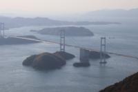 しまなみ海道のこの景色はどこからの構図ですか?