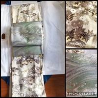 着物と袋帯なんですがこの組み合わせは変ですか?着物は一方付け小紋というものだそうです。 もしダメならこういう着物はどんな帯をするものですか?