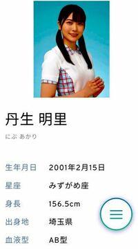 男性に質問。 日向坂46・丹生明里ちゃんは可愛いと思いますか?