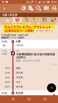 大阪駅から天王寺動物園行こうと思ったらこれであってます?