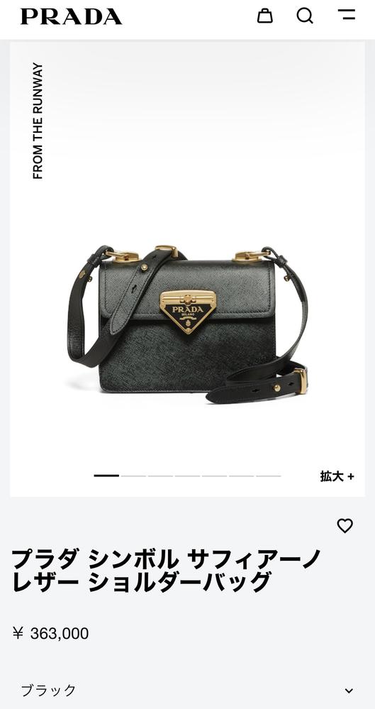 このプラダのバッグは定番商品か限定品のどっちでしょうか?