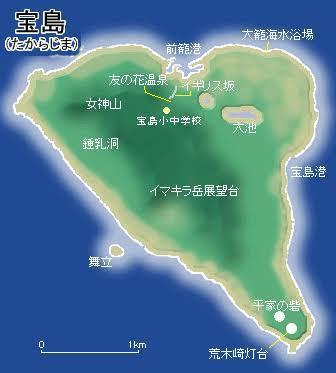 今日のミニロトが当たれば 宝島に行きたいですか?