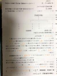 古典です。 源氏物語についてのまとめプリントで、自分なりに調べて埋めてみたのですが、どうしても分からなくて、空欄の部分を教えていただけませんか?
