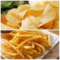 「ポテトチップス」と「フライドポテト」どちらの方が好きですか?