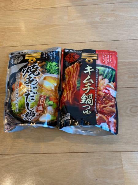 明日、鍋をするんですけど、どっちがいいと思いますか?牡蠣とアサリを入れます!