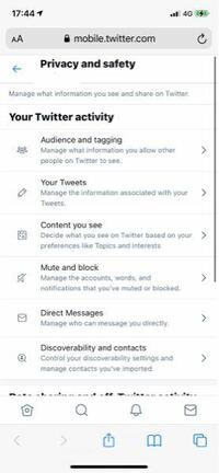 Twitterのセンシティブ解除がYahooとかで調べたやり方では出来なくてどうしたらいいですか?