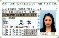 免許証とマイナンバーカードの一体化が2024年度末から始まるみたいですが 添付画像のような免許証の見た目など 雰囲気など変わるのですか?
