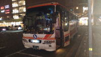 この神姫バスは三宮バスターミナルで撮ったのかしら?