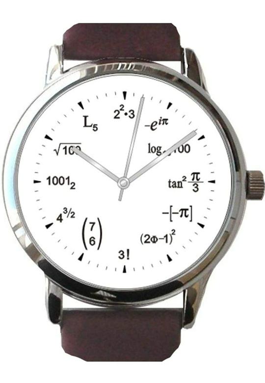 この時計の数式の解法を教えてほしいです。 【5】と【7】と【11】が分かりません。これで検索したらいいよとかでもいいのでよろしくお願いします
