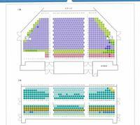劇団四季オペラ座の怪人の座席について質問です。 現在東京の劇団四季秋にオペラ座の怪人の公演が来ていますが、1階S1後列と2階S2の3列目以降ではどちらが見やすいでしょうか? 1階14列目以降は2階席が邪魔すると...