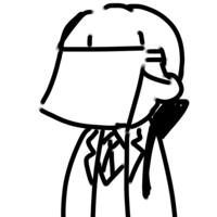 剣持刀也の衣装について にじさんじのVtuber剣持刀也さんの二次創作でよく通常衣装に白い布で顔を隠したもの(画像)が見られるのですがあれの元ネタはなんなのでしょうか?非公式wikiで探しても見当たらなかったので教えてもらえると幸いです。