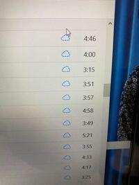 パソコンのiTunesからiPhoneに曲を入れたいのですが、うまくいきません、、、。 パソコンに曲は入れられたのですが、iPhoneを同期してもiPhoneで曲が聞けません。   写真のように、パソコンのiTunesで雲のマークが点線で出ます。 iPhoneは雲のマークの中に!マークがあってパソコンでライブラリの同期をして下さいと出ます。  自分なりに調べていろいろやってみたのですが、解決...