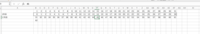 カレンダーの数学について質問です。 31日のカレンダーがあり、AさんBさんがあるように、縦に1列目、2列目と名前が続いてきます。 そして横の列は日付ごとに番号が振られていて、0から始まります。31日の時に...