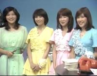 桜田淳子とキャンディーズが共演した写真です。可愛いですか?