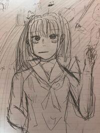 漫画家志望の中学2年生です。最近はデジタルやアナログで絵の練習を沢山してます。 授業中に書いた絵なんですがアドバイスください。厳しめにお願いしたいです。  またこの絵柄だと少年漫画か少女漫画どちらでし...