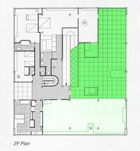 サヴォア邸の1/100の模型を作りたいのですが、縮尺の書かれていないネットの図面を手元に1/100で印刷する場合はどうしたら良いのでしょうか?例えばこんな感じの図面です。教えていただきたいです。