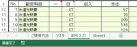 エクセルで出納帳つけてます。 INDEX関数とXMATCH関数で 別シートの情報を 行単位で2つのシートに分割したく 例えば「B3:D300」までは =INDEX(範囲,列[XMATCH使用],行)   列と行指定で 各セルの情報が取り出せたのですが   例えば「A3:A300」までの 端っこの「A」列に入れてしまった 出納情報のナンバリング番号が 取り出せません。 (行の値を0や1にしたら...