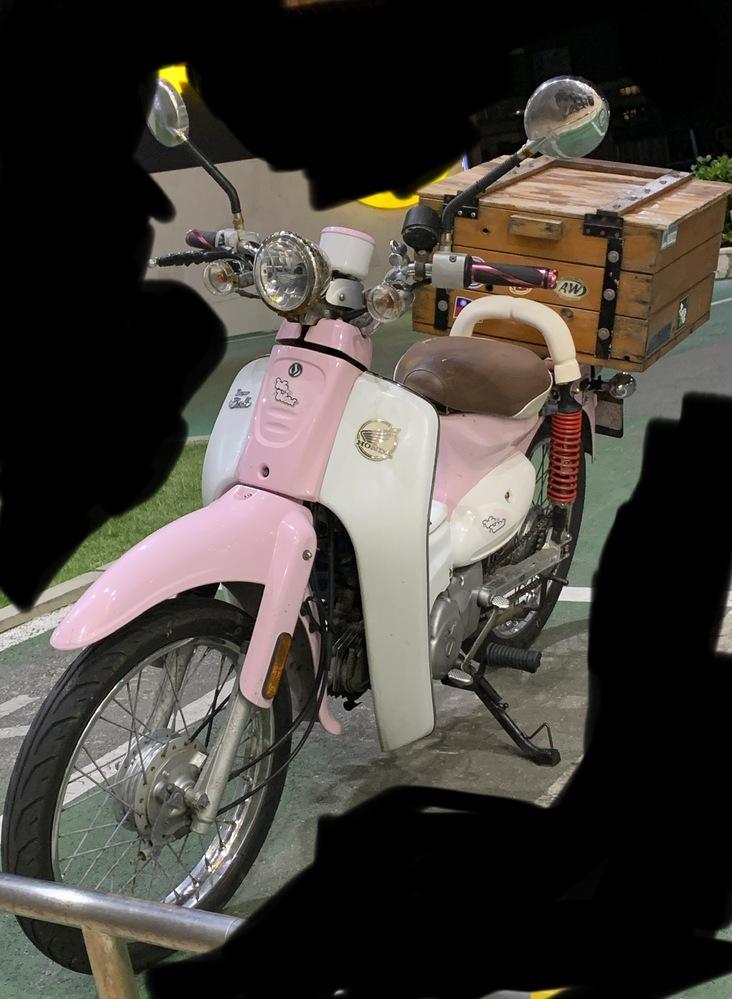 このバイクの車種を教えてください 多分ホンダです