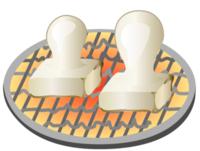 家で餅を焼く時って、何で焼いてますか?  最近のガスコンロって、網を乗っけて焼こうとすると、 センサーが働いて火が消えちゃうんですよね。