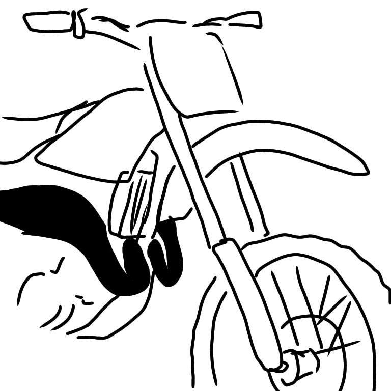ヤマハのオフロードバイクの車種が知りたいです rzかrzrと同じ2st2気筒のエンジンを積んでいて、ヤマハが輸出専用モデルで製造してたオフロードバイクだったと思います。 僕が見た画像はyzみた...