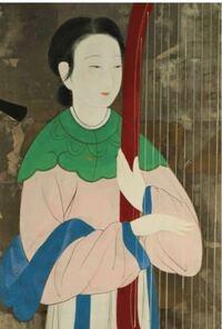 日本画か中国画の人物画なのですが、作者が分かりません。おおよそでもいいので分かります方、教えて下さいませ。